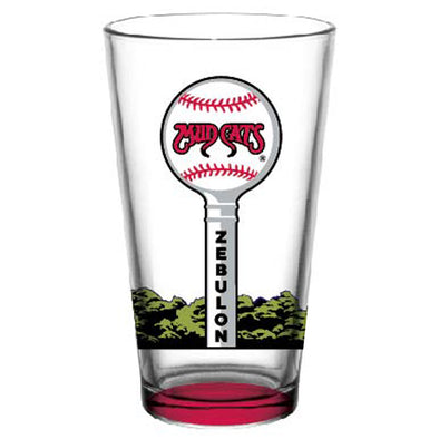 Carolina Mudcats Water Tower Pint Glass