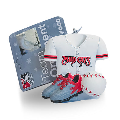 Carolina Mudcats Equipment Ornament