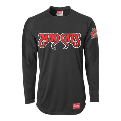 Carolina Mudcats Rawlings On-Field Pullover