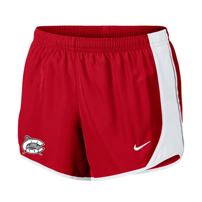 Carolina Mudcats Women's Red Nike Dri Tempo Short