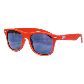 Carolina Mudcats Red Matte Sunglasses