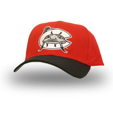 Carolina Mudcats Red Flex Fit Cap