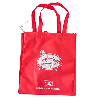 Carolina Mudcats Red Reusable Bag