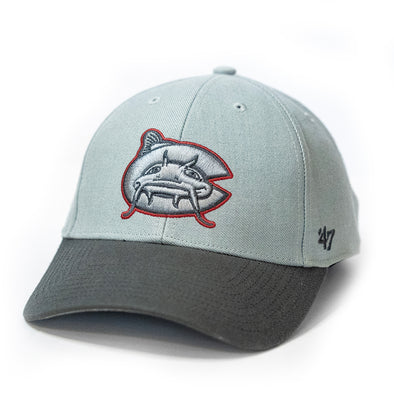 Carolina Mudcats Storm/Charcoal Two Tone '47 MVP