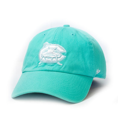 Carolina Mudcats Women's Tiffany Blue '47 Clean Up