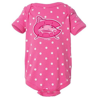Carolina Mudcats Infant Raspberry Tonal Bodysuit