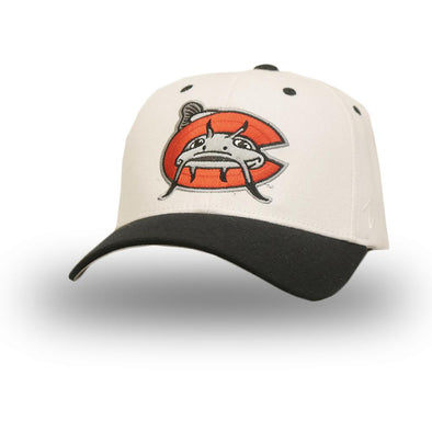 Carolina Mudcats New White Zephyr Flex Fit Cap