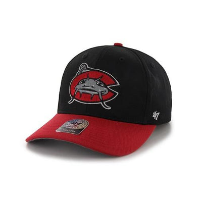 Carolina Mudcats Youth Black Replica Cap