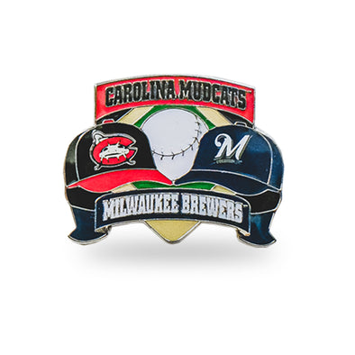 Carolina Mudcats Affiliate Lapel Pin