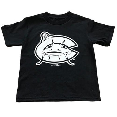 Carolina Mudcats Black Youth Class Tee