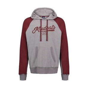 Carolina Mudcats Brick Pepper Fleece Hood