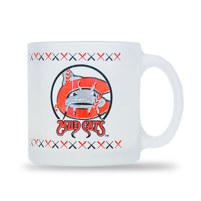 Carolina Mudcats Porthole Glass Coffee Mug