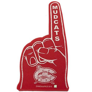 Carolina Mudcats Foam Finger