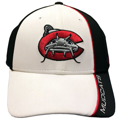 Carolina Mudcats White/Black Harwood '47 MVP