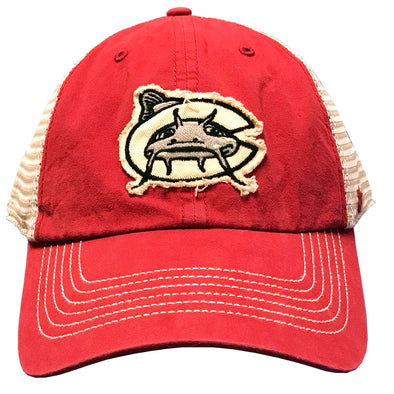 Carolina Mudcats Cayenne Hudson Mesh '47 Clean Up