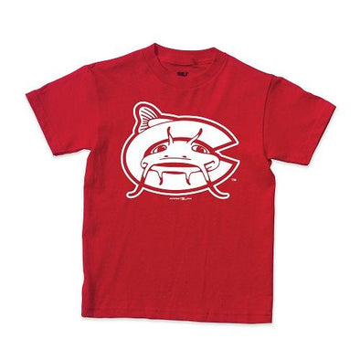 Carolina Mudcats Red Youth Class Tee