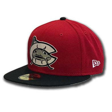 Carolina Mudcats Red New Era 5950 On Field Cap