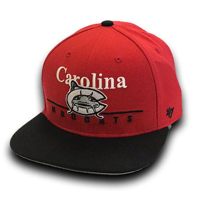 Carolina Mudcats Red/Black Rosemont '47 Captain
