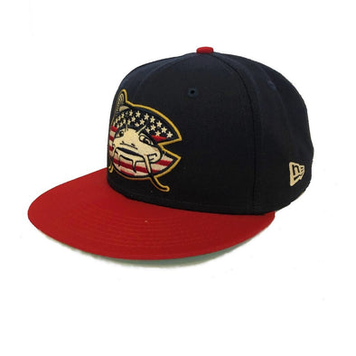 Carolina Mudcats 2019 Stars & Stripes On Field Cap