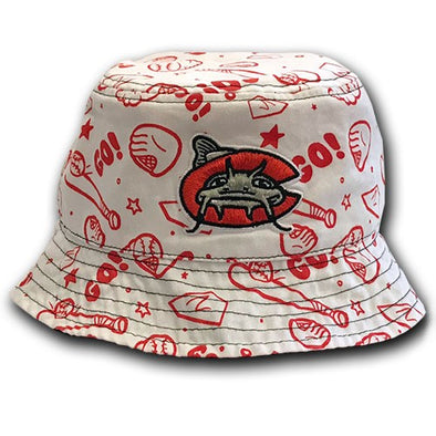 Carolina Mudcats Toddler White Buddy Bucket
