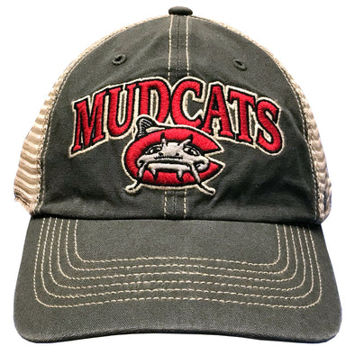 Carolina Mudcats Charcoal Tuscaloosa '47 Clean Up
