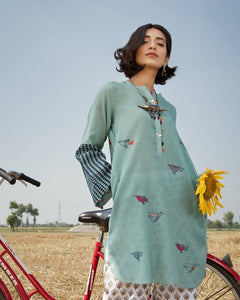 Free bird kameez by ZAHA