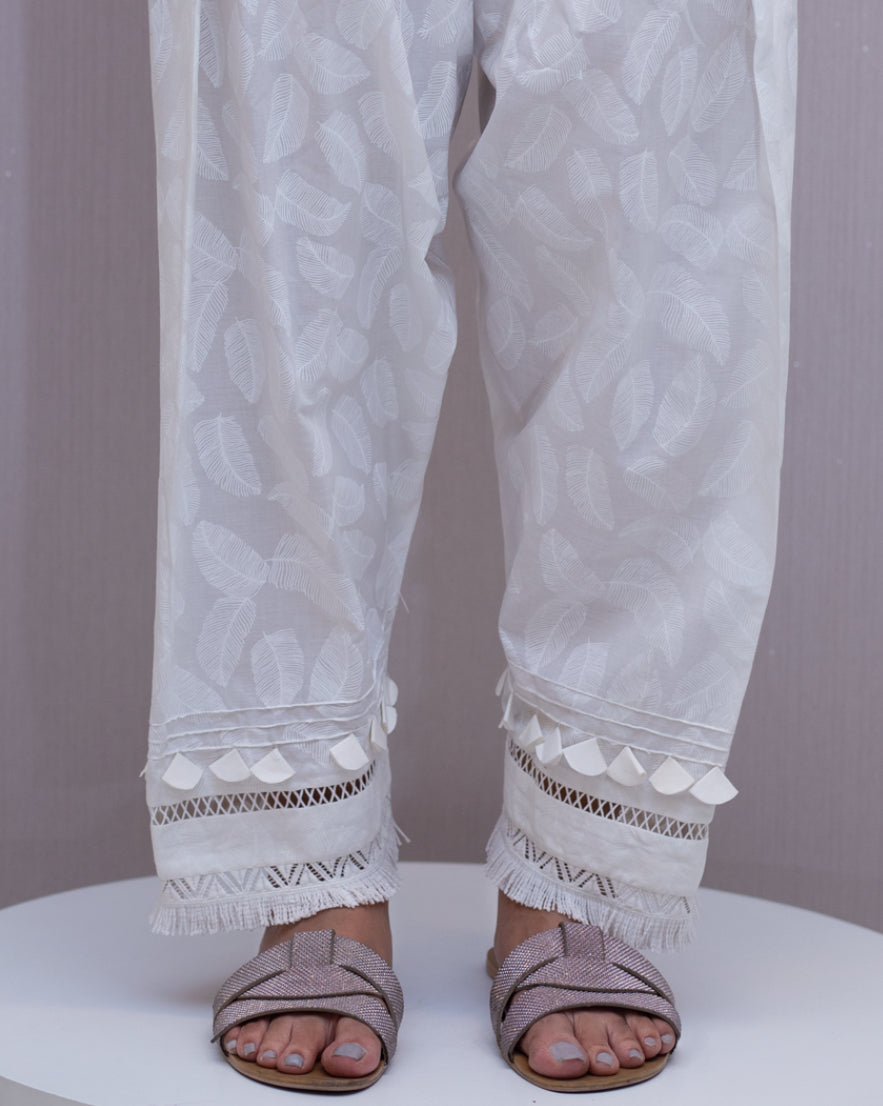Feathers trousers by ZAHA