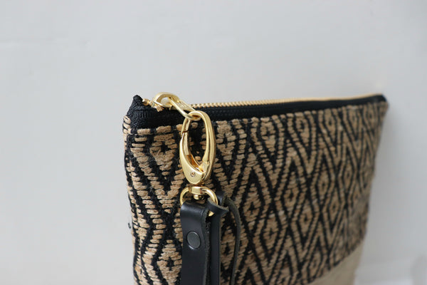 Woven Summer Clutch Bag