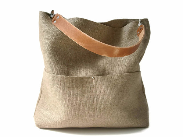 Woven Summer Tote Bag
