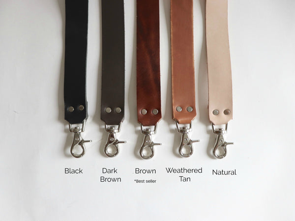 Leather Straps for Handbags, Leather Crossbody Straps