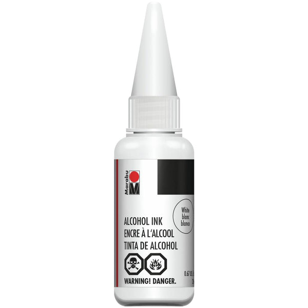 Marabu Alcohol Ink White 20ml