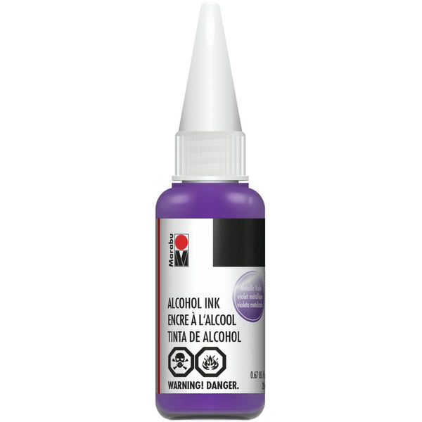 Marabu Alcohol Ink Metallic Violet 20ml