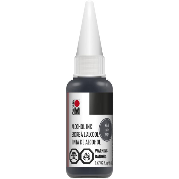Marabu Alcohol Ink Black 20ml