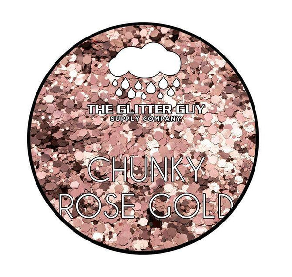 The Glitter Guy - Chunky Rose Gold