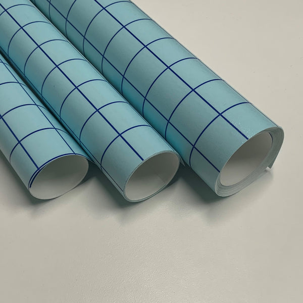 Transfer Tape Blue Grid - Create With 614