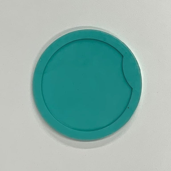 "Silicone 2 3/4"" Car Coaster Mold"