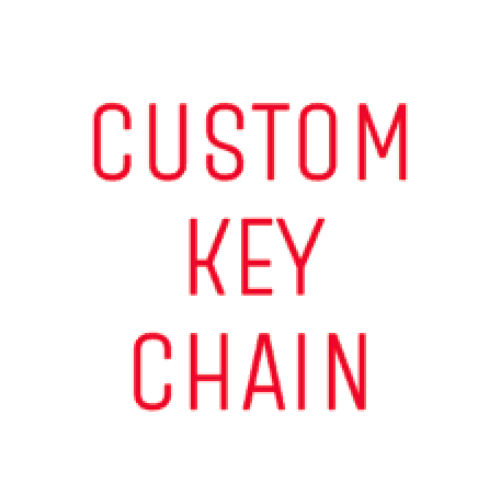 Key Chain Blank - Custom Cut
