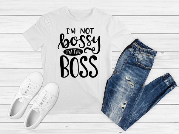 Not Bossy Sublimation Print - Create With 614