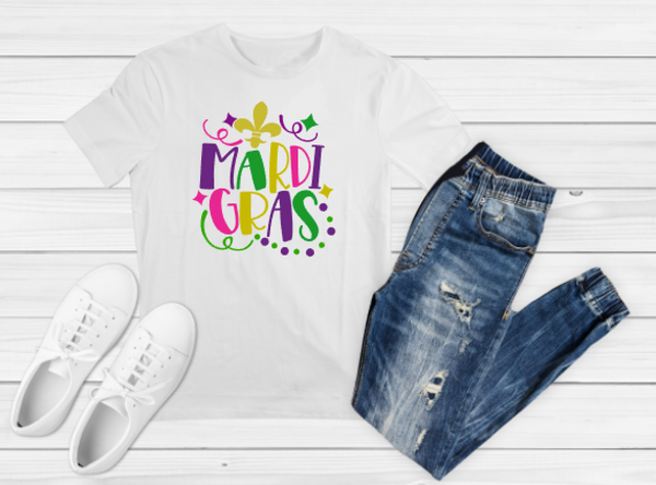 Mardi Gras 2 Sublimation Print - Create With 614
