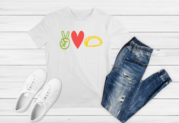 Peace Love Tacos Sublimation Print - Create With 614