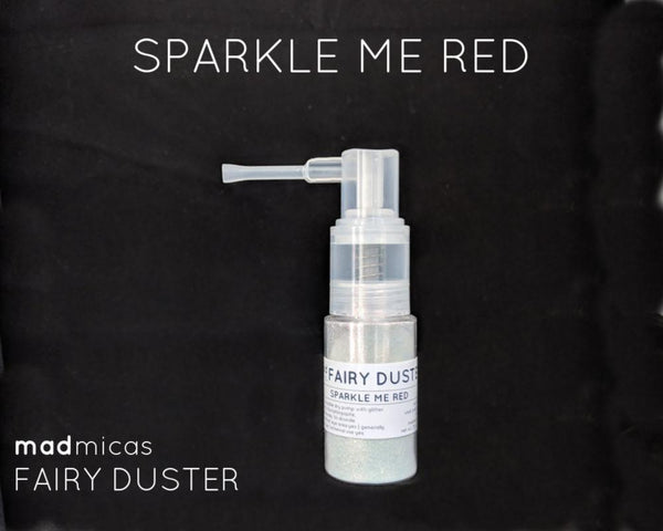 Mad Micas - Sparkle Me Red Fairy Duster