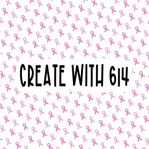 Create With 614 Pattern - Breast Cancer Awareness Ribbon