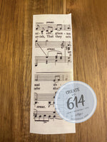 Pen Wrap - Music Notes