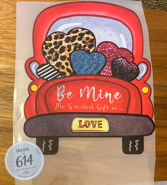 Love Truck Ready to Press - Create With 614