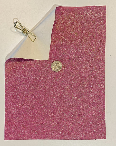 Glitter Sheet Fine Pink Shimmer - Create With 614