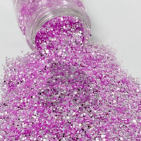 Glitter Chimp - Sweet Pea, Color Shift Chunky