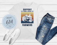 Support Farmers Print - Create With 614
