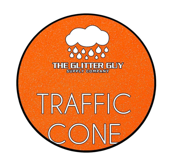 The Glitter Guy - Traffic Cone