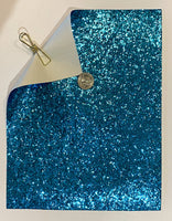 Glitter Sheet Chunk Light Blue - Create With 614
