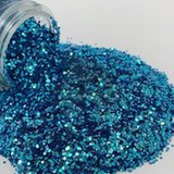 Glitter Chimp - Varsity Blues, Chunky Color Shift - Create With 614